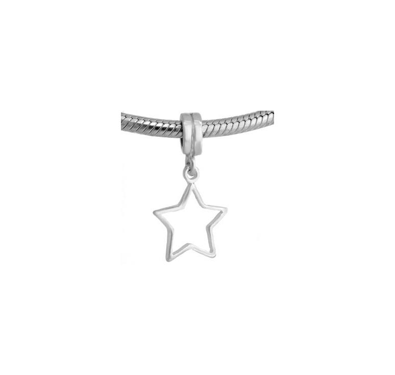 abalorio estrella pandora