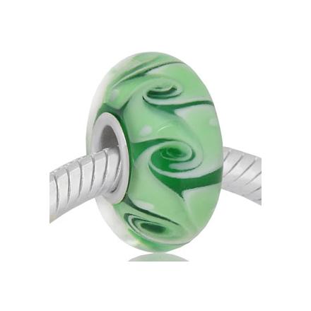 CRISTAL de MURANO verde