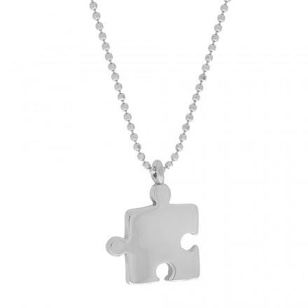 Collar mariposa de plata con cadena