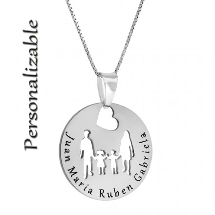 Collar personalizable familia