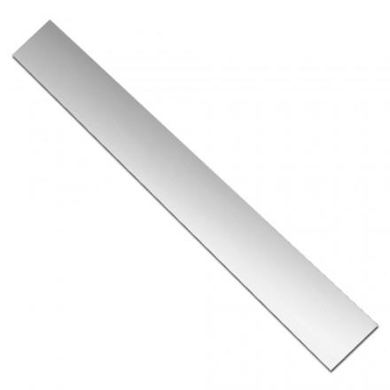 Lamina de plata 0.6 mm. 50 x 500 mm.