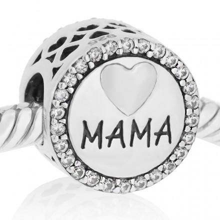 Te quiero mama con piedras blancas