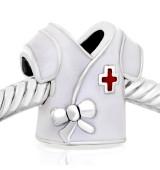 Abalorio Bata de medico enfermera