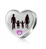 Abalorio familia personalizable