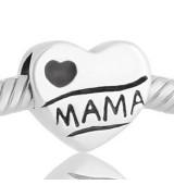 Abalorio corazon te quiero mama