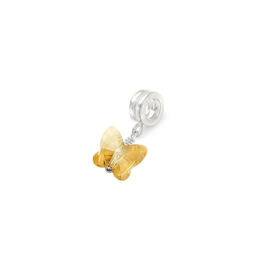 92d8ccf4 Compra al mejor precio COLGANTE mariposa amarilla compatible con ...