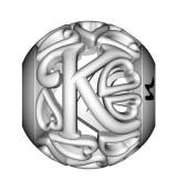 Abalorio Letra K