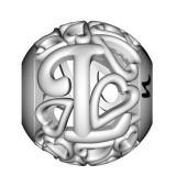 Abalorio Letra L